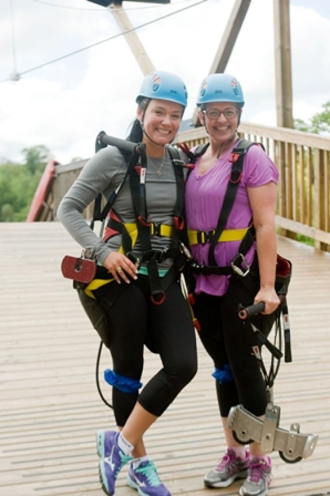 Treat Mom to a Healthy Gift This Mother's Day with Horseshoe Resort & Fit Chicks