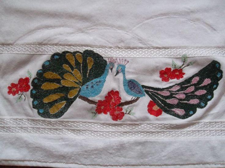 Tavus Kuşları Havlu