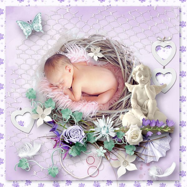 * Angel * by Love-crea-desing  http://scrapfromfrance.fr/shop/index.php… http://www.digiscrapbooking.ch/shop/index.php…