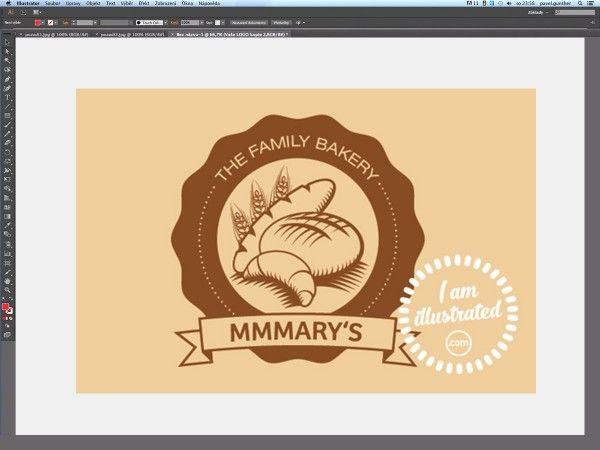 Druhým dílem pokračujeme v tvorbě loga pro rodinnou pekárnu.