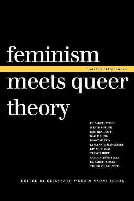 ... innovative and important thinking about the various relations between feminist theory, queer theory, and lesbian theory, as well as the possibility that liberation can be mutual rather than mutual