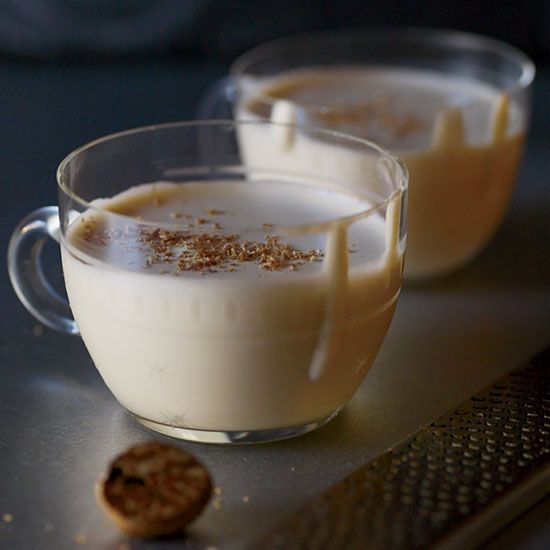 Eben Freeman's foamy interpretation of eggnog—infused with the sweet, caramelly flavors of sticky toffee pudding, a British favorite—is halfway be...