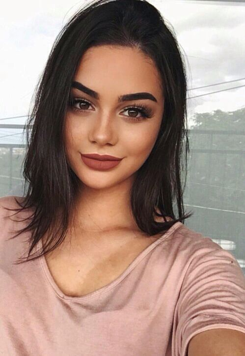 blush pink makeup- How to apply blush to suit your face shape http://www.justtrendygirls.com/how-to-apply-blush/