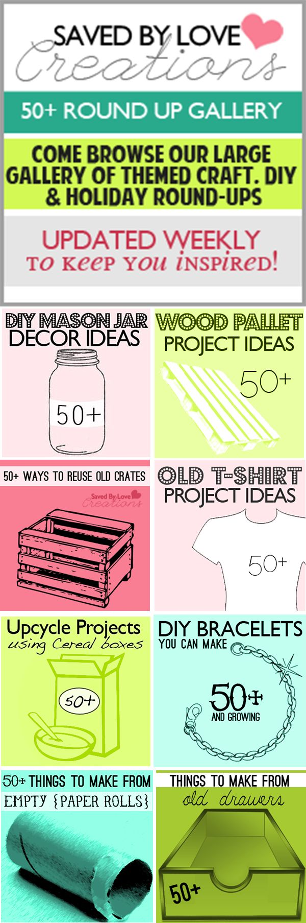 The world's best craft DIY roundups keep current & find the perfect project to make for any occasion @savedbyloves