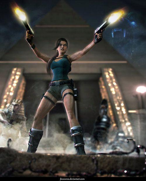 Lara Croft and the Temple of Osiris - Fan Art Created by Joao Lucas