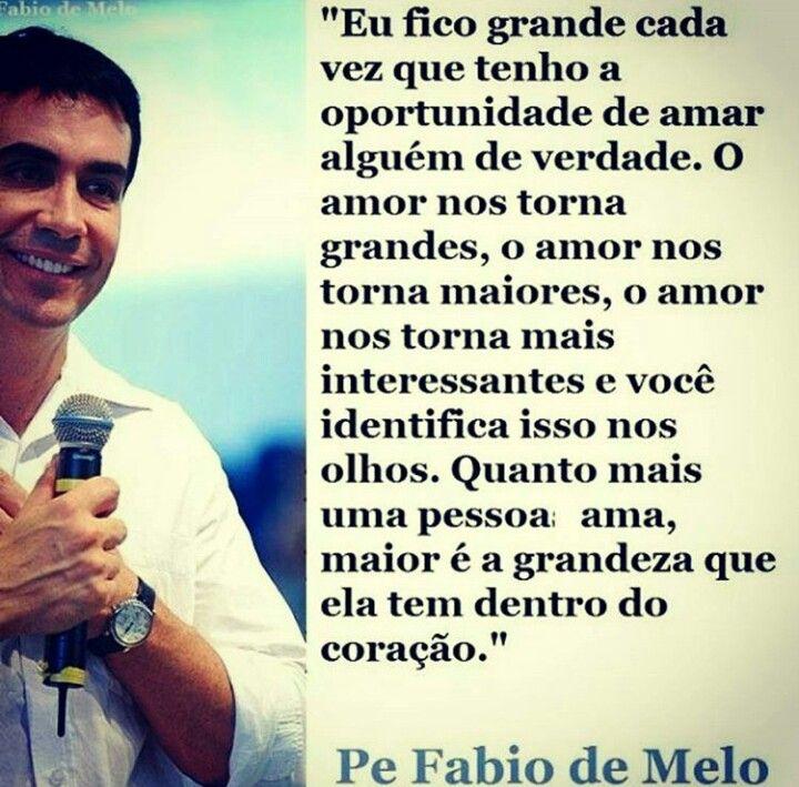 Dica Do Pe Fbio De Melo Foto Frases T Fotos