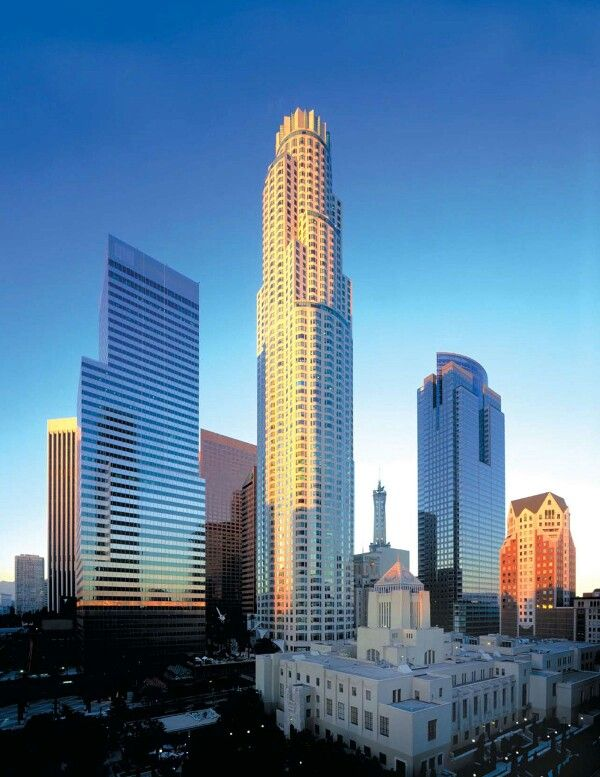 US Bank Formerly First Interstate Bank Tower Downtown Los Angeles