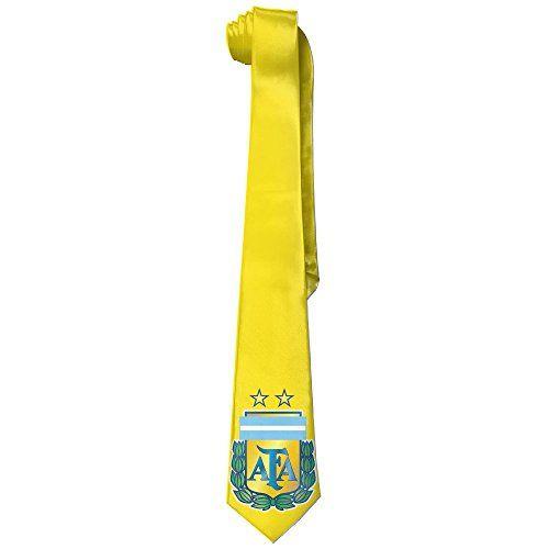 ONESEDA Men's 2016 Argentina Soccer Team Tie Necktie Ties