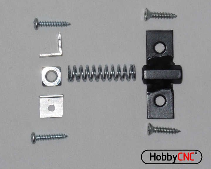 Axis Drive Nut Antibacklash Kit For Hobbycnc Diy Cnc Router Project Hobby Cnc Diy Cnc Router Diy Cnc
