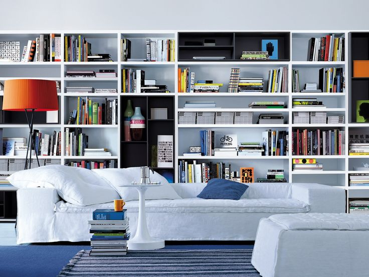 WALL SYSTEM Bookcase by Poliform