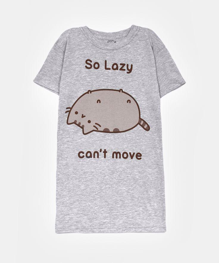So Lazy Pusheen t-shirt (womens)
