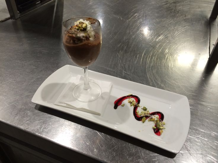 Delicious chocolate mousse