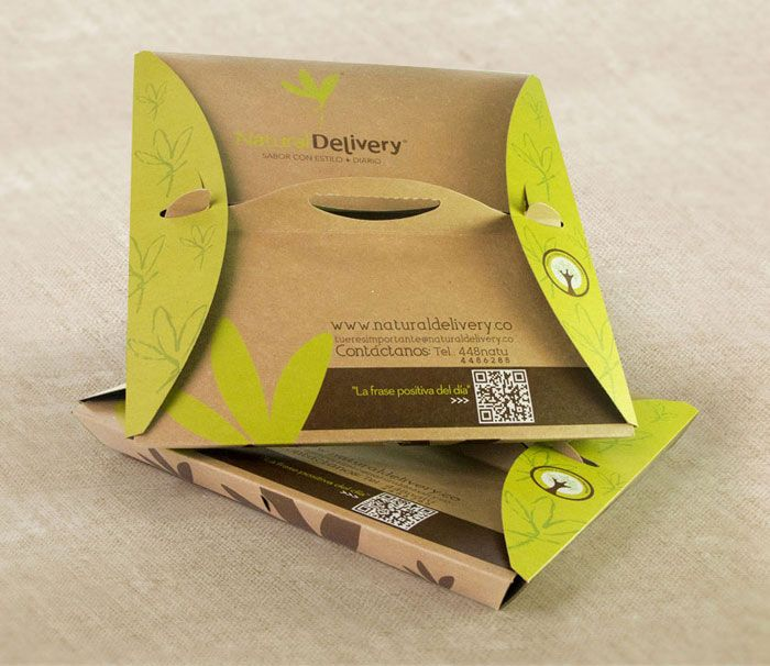 Sustainable Natural Delivery Food Packaging
