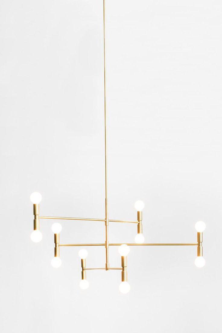 lambert et fils lighting atomium pendant light chandelier brass cococozy
