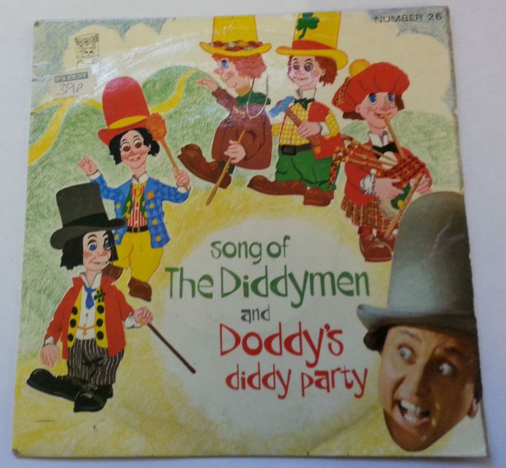 Ken Dodd Song of the Diddymen 7 Inch Single Record FP 26 Doddy s Diddy Party