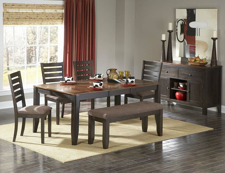 Homelegance 5341 72 Natick Dining Room Set
