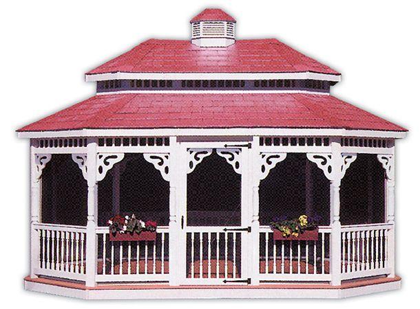 Amish Built Lawn Furniture Gazebos, Hardy Lawn Furniture Sheds