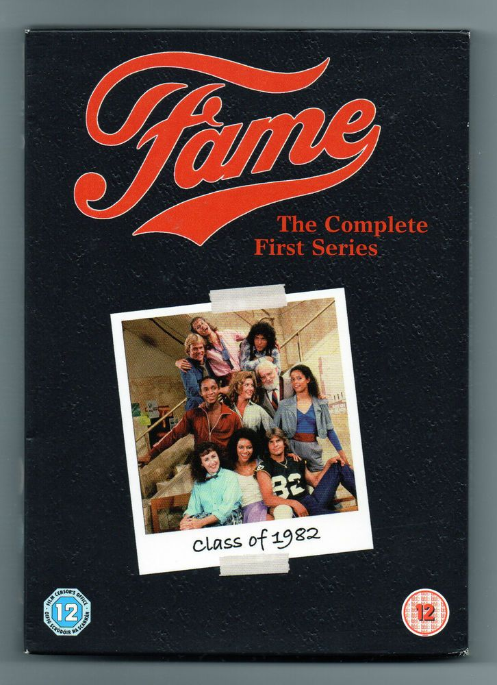 FAME, SERIES ONE  THE CLASS OF  82  4 DVD BOXED SET - REG 02 - NEW AND SEALED!