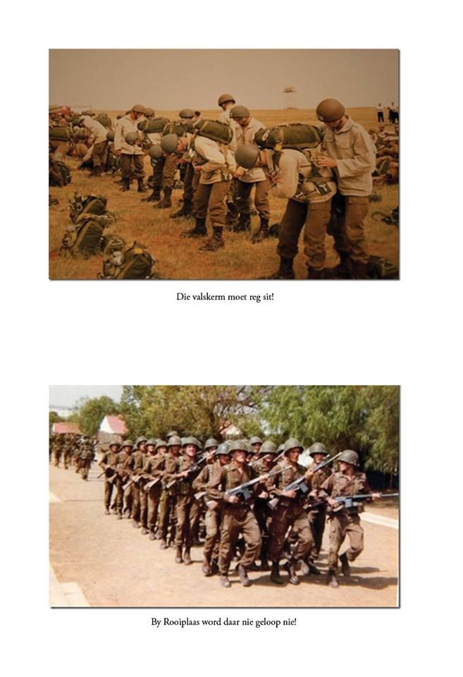 South African Para's in the good old days -train hard - fight easy