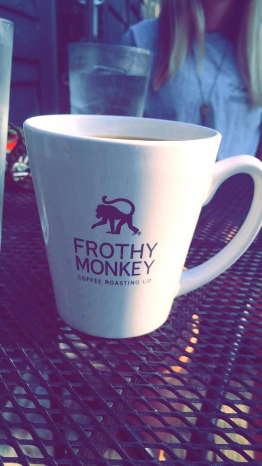 Frothy Monkey Coffee Shop « Sarah Alexandra Blog | #Nashville #TN #coffee #MusicCity #mug #travel #summer #coffeemug