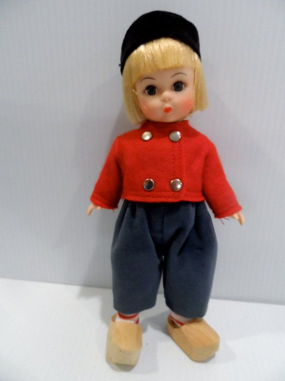 Netherlands Boy Madame Alexander Doll 577