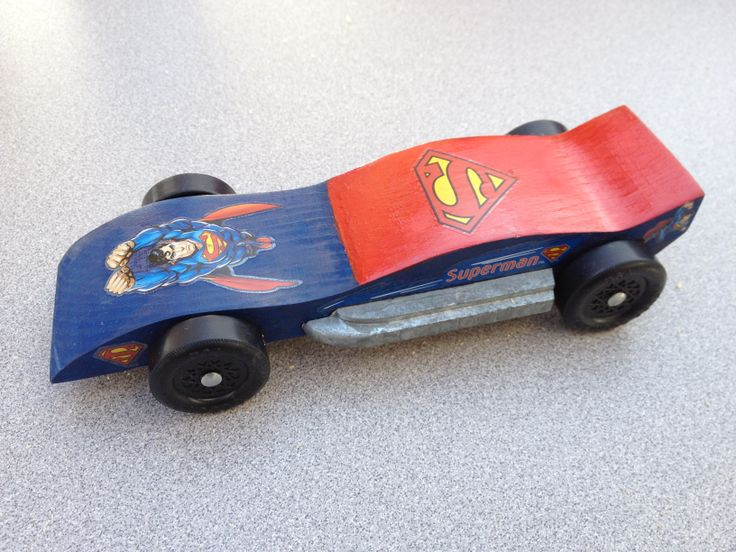pinewood derby shark template - tate 39 s superman car 2014 wolf cub scouts pinewood