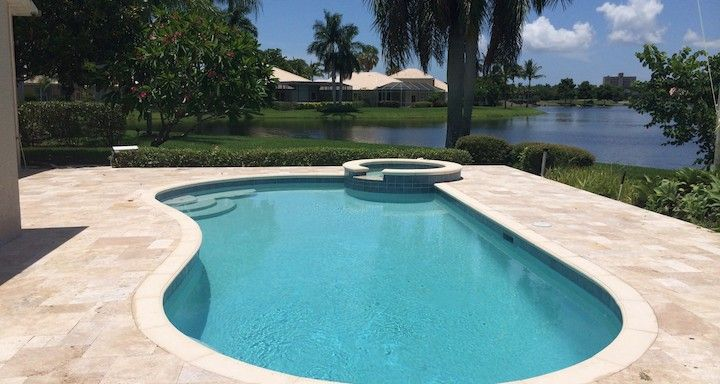 Kidney shaped pool pools and hot tubs on pinterest for Images of kidney shaped pools