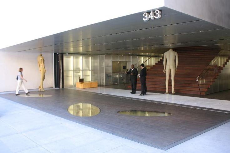 Luxury Retail Entrance To The Prada Store In Beverly