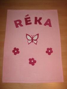 Névre szóló takaró / Blanket with name