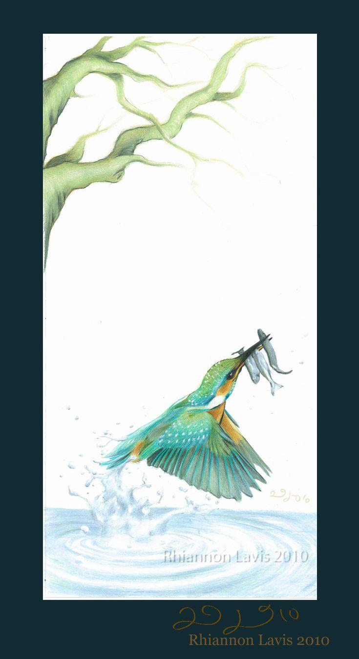 Kingfisher by Rhi la Vis (Rhiannon Lavis)
