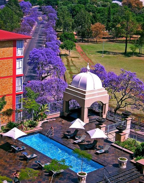 View from the Sheraton hotel Pretoria SA