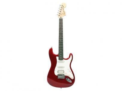 Guitarra Squier By Fender Strato Standard Fat - Vermelho com as melhores condições você encontra no Magazine Raimundogarcia. Confira!