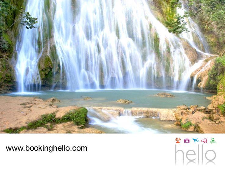 VIAJES PARA JUBILADOS TODO INCLUIDO AL CARIBE. Aprovecha tus vacaciones all inclusive con Booking Hello y atrévete a descubrir la belleza de República Dominicana. El Salto El Limón en la península de Samaná, mide aproximadamente 50 metros de altura y desemboca en una hermosa piscina natural de agua cristalina. Así que prepara tu cámara, para llevarte los mejores recuerdos de este fantástico lugar. #BeHello