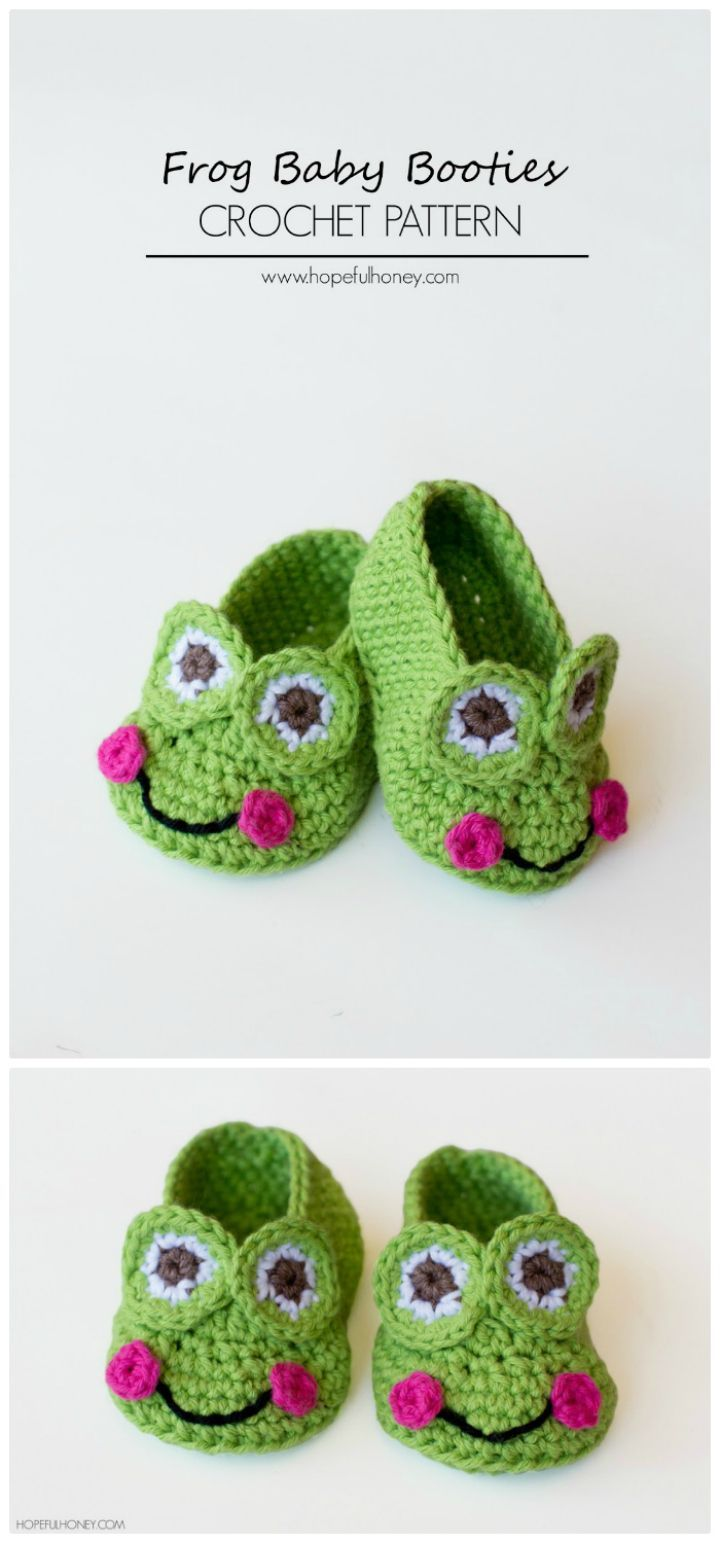 Crochet Baby Booties - 55 Free Crochet Patterns for Babies | Zapatos