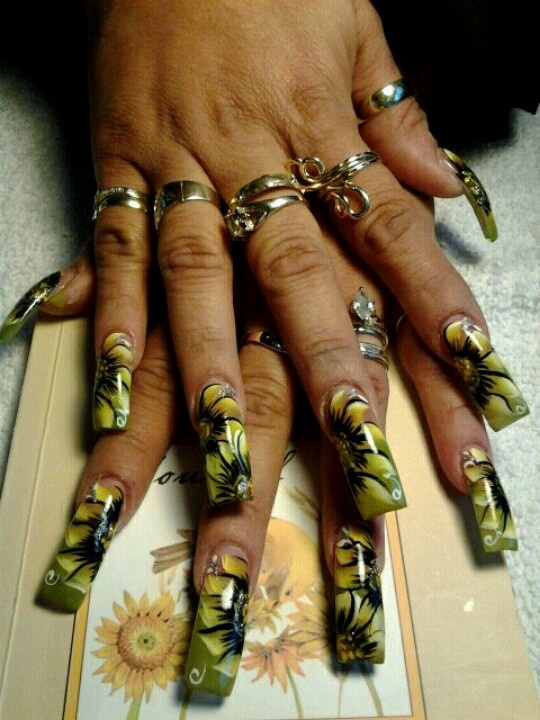 1000+ images about Long Nails on Pinterest | Silver ... - photo#34