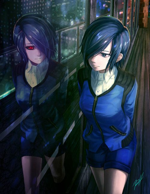 Imagen de tokyo ghoul, anime, and touka
