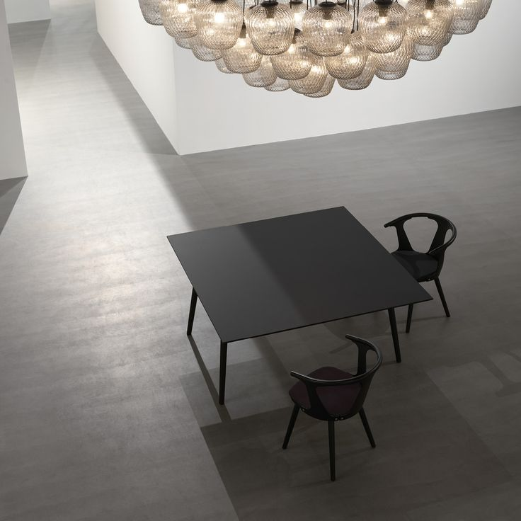 In Between table and chairs by Sami Kallio for &tradition