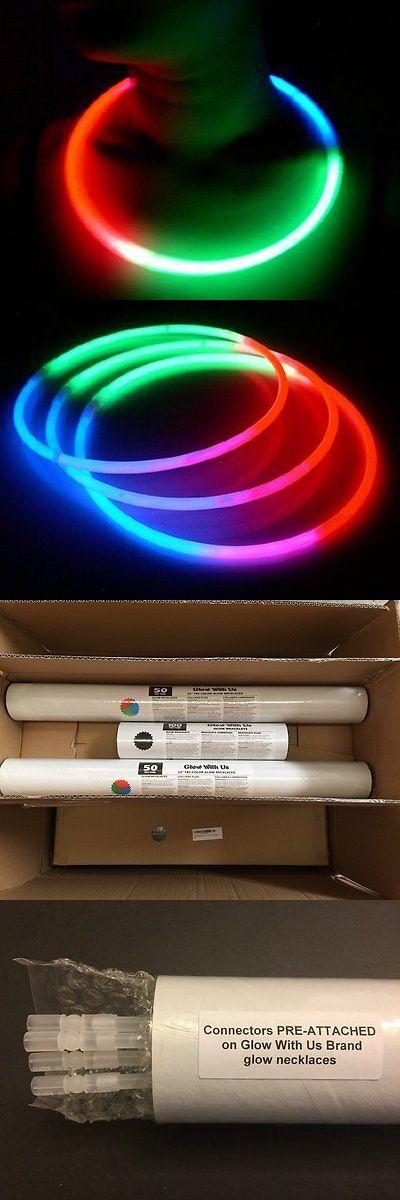 """Glow Sticks 51019: Glow Sticks Bulk Wholesale Necklaces, 100 22"""" Glow Stick Necklaces+100 Free Glow -> BUY IT NOW ONLY: $56.07 on eBay!"""