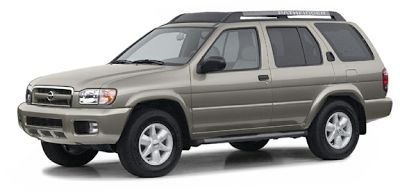 2003 Nissan Pathfinder Exhaust System Diagram