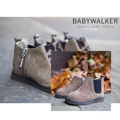 FW2014/15 booties by BABYWALKER..  less is more