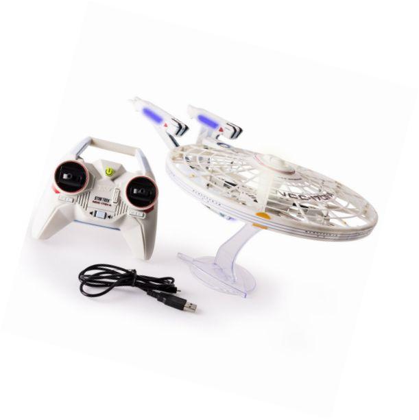 Air Hogs Star Trek USS Enterprise Remote Control Drone 2.4 GHZ, 4 Channel - http://www.remote-control-drones.com/product/air-hogs-star-trek-uss-enterprise-remote-control-drone-2-4-ghz-4-channel/