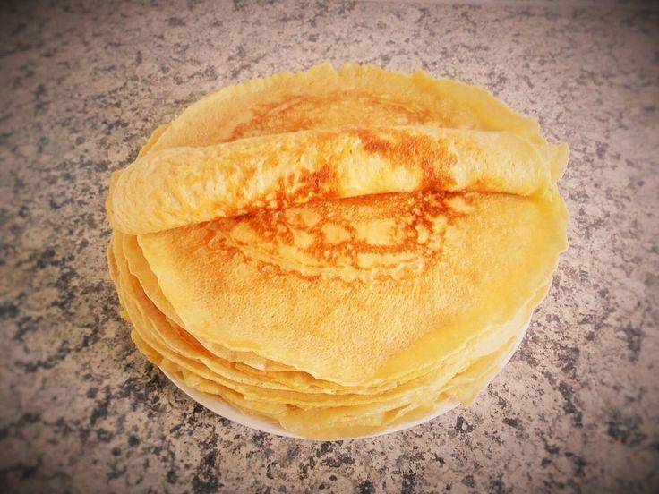 Pfannkuchen/Eierkuchen backen, Rezept: schnell, lecker und einfach - wen...