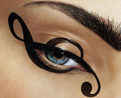 music note. so cool: Eyeliner, Music Note, Trebleclef, Treble Clef, Beauty, Eyemakeup, Eyes Liners, Eyes Makeup, Eyesmakeup