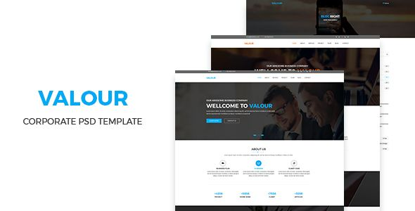 Valour - Corporate PSD Template - Marketing Corporate Download here : https://themeforest.net/item/valour-corporate-psd-template/19822000?s_rank=250&ref=Al-fatih