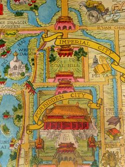 Map and History of Beijing