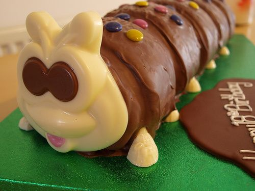 Colin the Caterpillar Cake from M&S