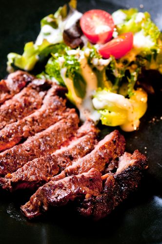 The Chew: Steakhouse Salad Recipe  Balsamic Marinated Steak Recipe