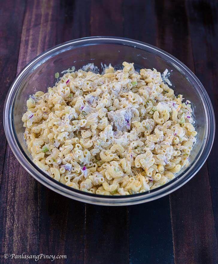 Tuna Macaroni Salad Panlasang Pinoy Recipe Tuna Macaroni Salad Cold Pasta Salad Recipes Macaroni Salad