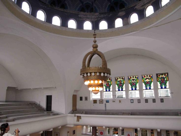 Trencin synagogue interior