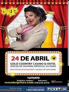En Gold Country Casino llega La Chupitos